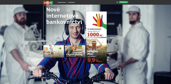 Nový web mBank