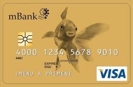 Kreditní karta mBank Visa Gold