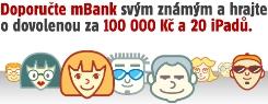 Doporučte mBank svým známým!