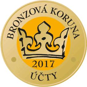 Zlatá koruna 2017 - Účty - 3. místo