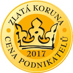 mKonto Bussiness - Zlatá koruna 2017 - Cena podnikatelů - 1. místo