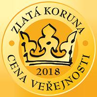 Zlatá koruna 2018 - Cena veřejnosti - 1. místo